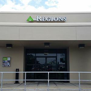 Regions Bank University Blvd in Winter Park