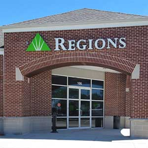 Regions Bank West Palm Bay in West Melbourne