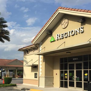 Regions Bank Sandlake And Bay Hill in Orlando