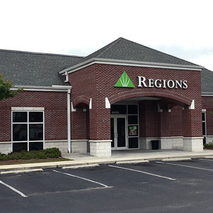 Regions Bank Milton in Milton