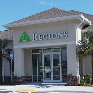Regions Bank St Andrews in Panama City
