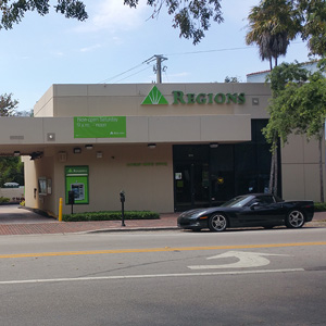 Regions Bank Coconut Grove in Coconut Grove