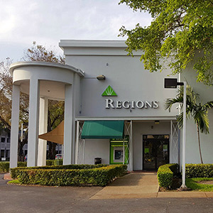 Regions Bank West Dixie in North Miami Beach