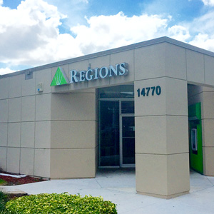 Regions Bank West Kendall in Miami