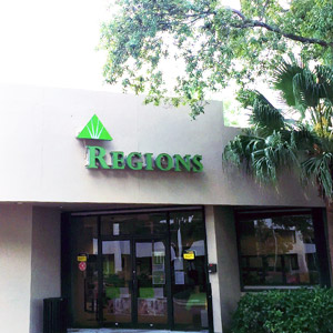Regions Bank Lake Worth in Greenacres
