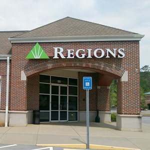 Regions Bank Cartersville Commons in Cartersville