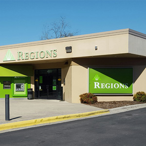 Regions Bank Thornton in Dalton