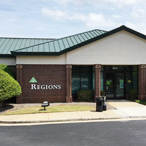 Regions Bank Athens Clarke Atlanta Hwy in Athens