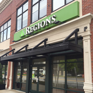 Regions Bank Brookwood Station in Atlanta
