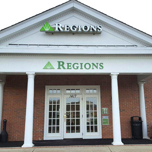 Regions Bank Riverstone in Canton