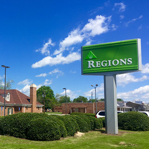 Regions Bank Hill St in Thomson