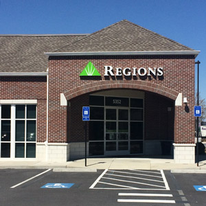 Regions Bank Mcginnis Ferry Rd in Alpharetta