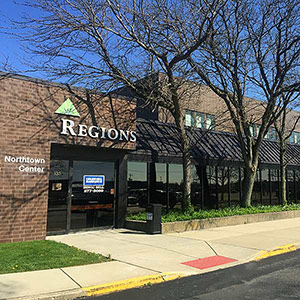 Regions Bank Northtown in Decatur