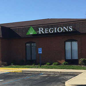 Regions Bank Valley Mills in Indianapolis