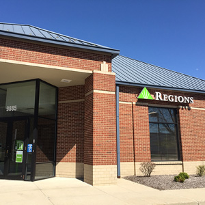 Regions Bank 79Th And Fall Creek Indianapolis in Indianapolis