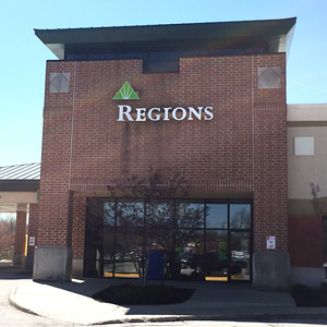 Regions Bank Bloomington Whitehall in Bloomington
