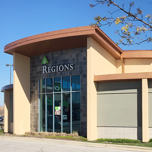 Regions Bank Southport Commons in Indianapolis