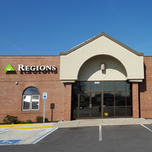 Regions Bank Kokomo Fountain Square in Kokomo
