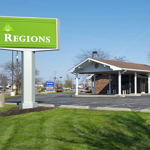Regions Bank Sagamore West in West Lafayette