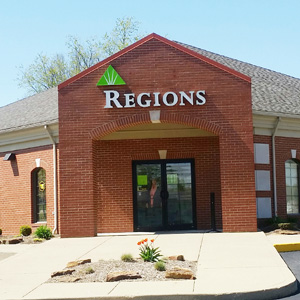 Regions Bank Bicknell in Bicknell