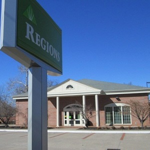 Regions Bank West End in Paducah