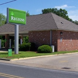 Regions Bank New Roads Remote Drive Thru in New Roads