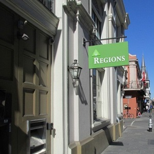 Regions Bank French Quarter in New Orleans
