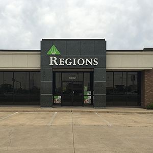 Regions Bank Bayou Walk in Shreveport