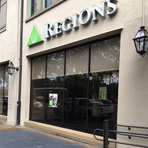 Regions Bank Uptown in New Orleans