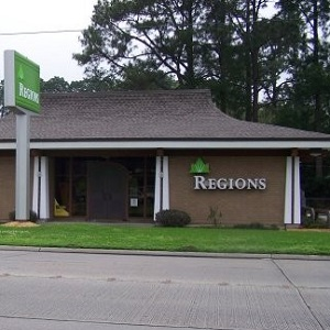 Regions Bank North Lewis in New Iberia