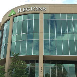 Regions Bank South College in Lafayette
