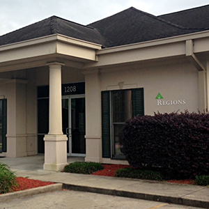 Regions Bank Broussard in Broussard