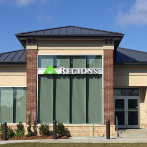 Regions Bank Tchoupitoulas in New Orleans