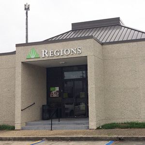 Regions Bank Bluebonnet in Baton Rouge