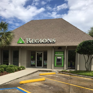Regions Bank Algiers in New Orleans