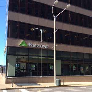 Regions Bank Downtown Gateway One in St. Louis