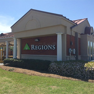 Regions Bank Jacksonian Express in Jackson