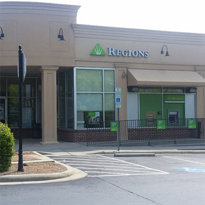 Regions Bank Ayrsley in Charlotte
