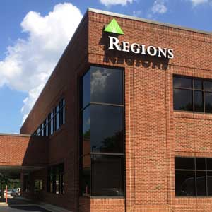 Regions Bank Raleigh Northpark in Raleigh