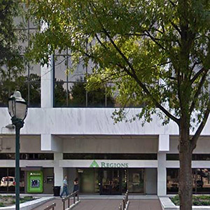Chattanooga Regions Center Full Service Bank Branch
