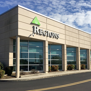 Regions Bank Gunbarrel Rd in Chattanooga