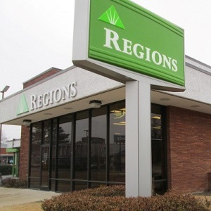 Regions Bank Overton Square in Memphis