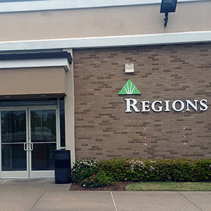 Regions Bank Holiday City in Memphis