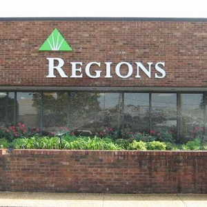Regions Bank Bartlett in Bartlett