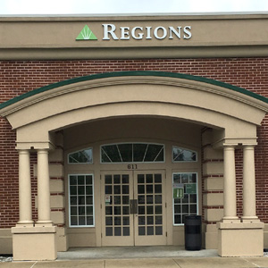 Regions Bank Henderson in Henderson