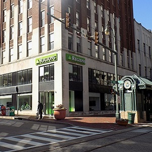 Regions Bank Downtown 88 Union in Memphis