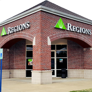 Regions Bank Raleigh Bartlett Covington Pike en Memphis