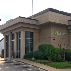Regions Bank Rivergate Mall in Goodlettsville