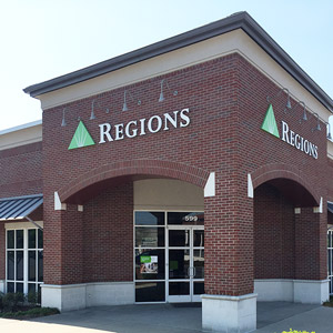 Regions Bank East Nashville in Nashville