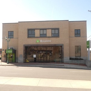 Regions Bank Downtown Clarksville in Clarksville